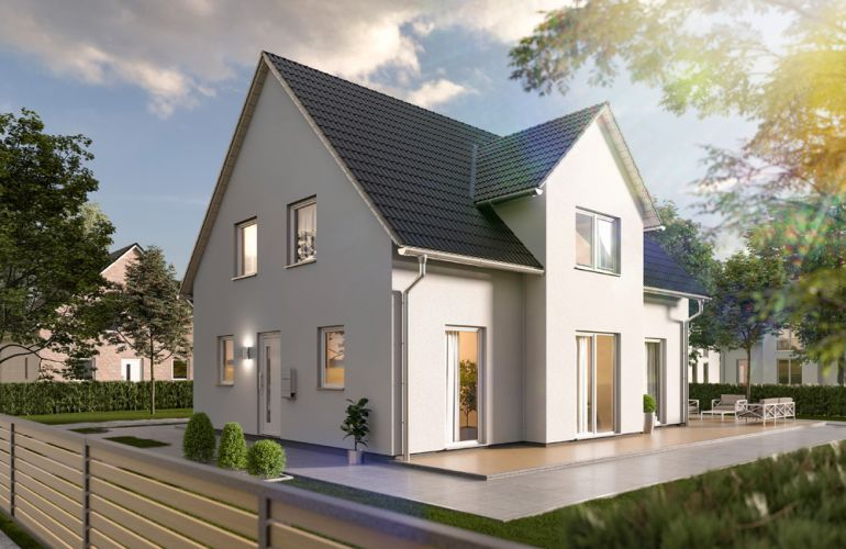 Town Country Haus Lichthaus152 Trend Eingang